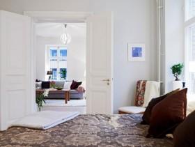 100平公寓卧室装修效果图
