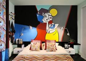经济型装修 卧室背景墙装修效果图138