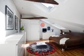 120平一居室卧室装修效果图