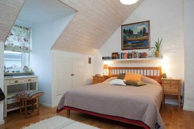 120平北欧卧室装修效果图616