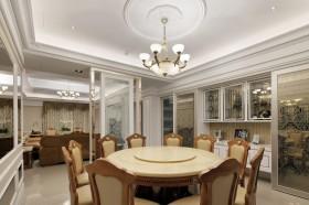 145平新古典餐厅装修效果图513