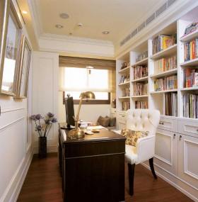 120平公寓新古典风格书房装修效果图