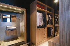 时尚混搭现代居室 鲜明个性居家衣帽间