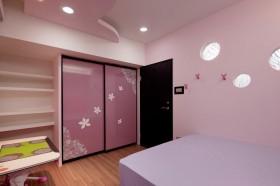 120平混搭公寓卧室装修效果图片