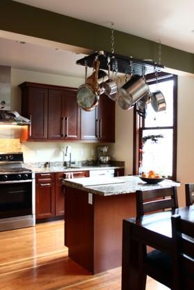 奢华厨房装修效果图345