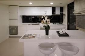 日式风格厨房装修效果图344