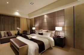 卧室床头软包装修效果图670