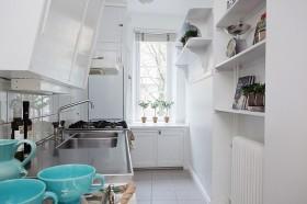 60平公寓厨房装修效果图343