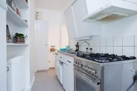 宜家风格厨房装修效果图343