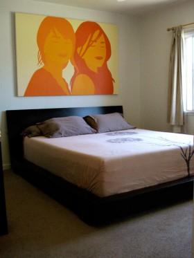 60平公寓卧室装修效果图121