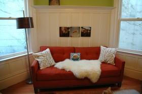 70平混搭公寓沙发装修效果图723