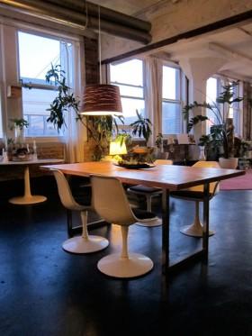 140平loft公寓餐桌装修效果图424