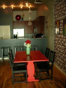 简约70平公寓餐厅装修效果图454
