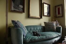 110平米田园公寓客厅装修效果图