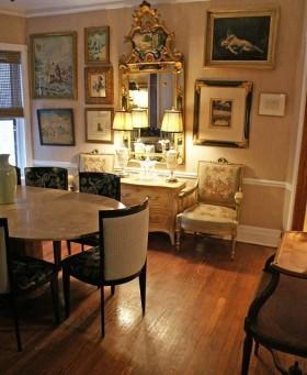 130平公寓餐厅背景墙装修效果图58