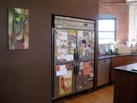 140平公寓厨房装修效果图294