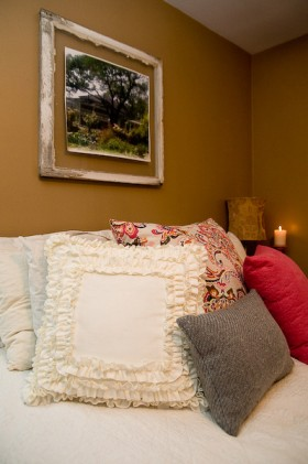 乡村风格床装修效果图455