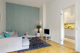 公寓背景墙装修效果图115