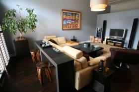 60平公寓客厅装修效果图520