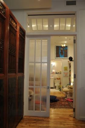 中欧混搭二居室 半开放式美家