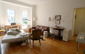 奢华公寓客厅沙发装修效果图601