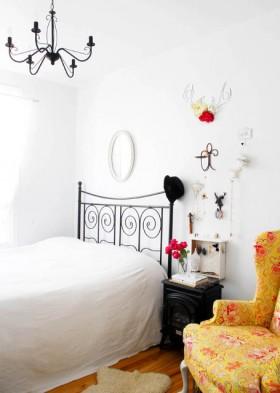 120平公寓卧室装修效果图4