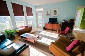 130平公寓客厅装修效果图503