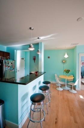 130平公寓吧台装修效果图52