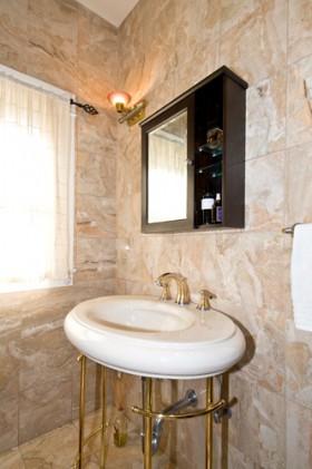 卫生间洗手台装修效果图175