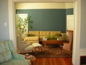 沙发背景墙装修效果图574