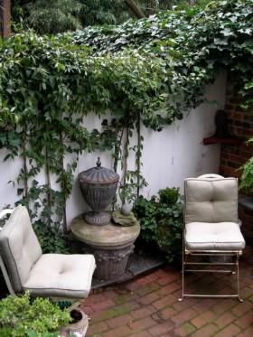 随意手绘墙 舒适温润花园