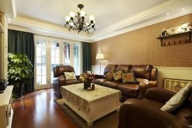 130平三居客厅装修效果图478