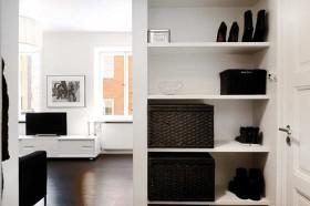 北欧白领公寓设计 玄关装修效果图61