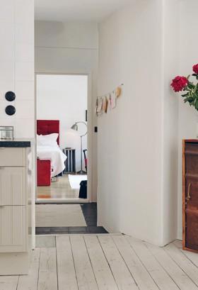 悠闲明快公寓 白色北欧美家