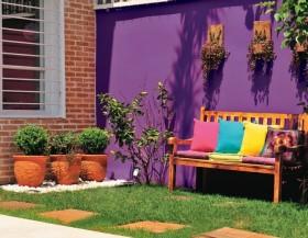 现代明艳居室花园装修