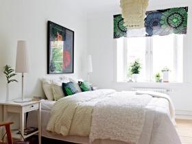 50平北欧公寓卧室效果图211