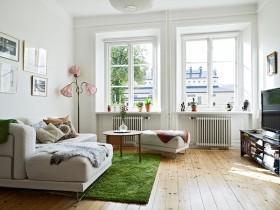 北欧白领公寓设计 沙发装修效果图514