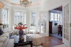 120平圆形客厅装修效果图片