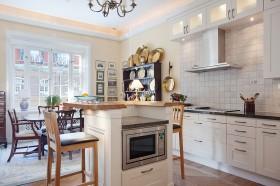 120平欧式公寓厨房装修图片