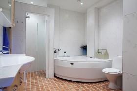 欧式公寓舒适卫生间装修效果图143