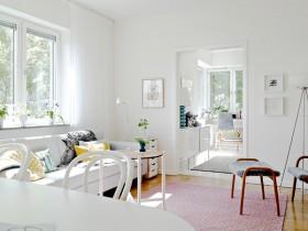 110平米公寓装修效果图