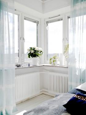 110平卧室飘窗装修效果图