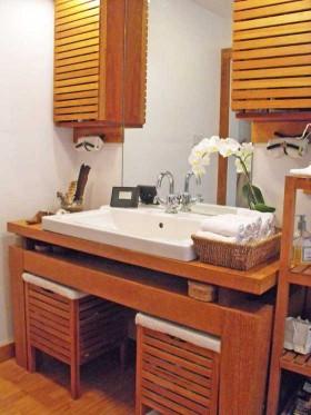 乡村风格洗手台装修效果图114