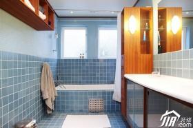 浴室柜装修效果图48