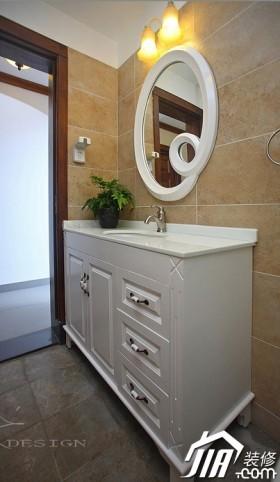 浴室柜装修效果图43