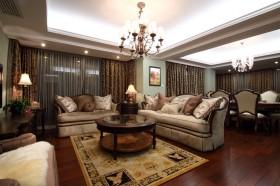 130平公寓客厅装修效果图486