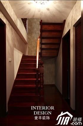面积公寓楼梯装修效果图35