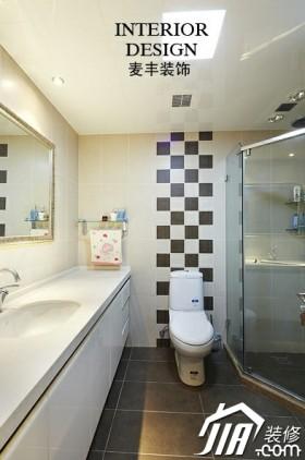 浴室柜装修效果图35