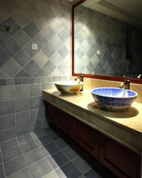 公寓洗手台装修效果图74