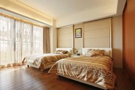120平古典三居卧室装修效果图